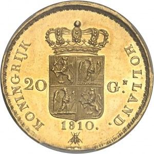 Hollande (royaume de), Louis Napoléon (1806-1810). 20 florins 1810, Utrecht.