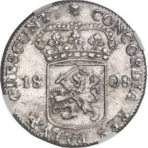 Hollande (royaume de), Louis Napoléon (1806-1810). Ducat ou rijksdaalder 1808, Utrecht.