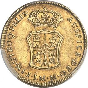 Charles III (1759-1788). 2 escudos 1771 J-M, LM, Lima.