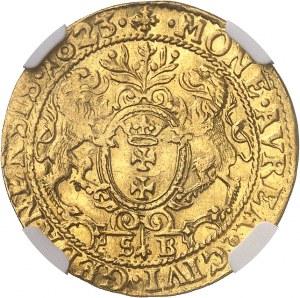 Sigismond III Vasa (1587-1632). Ducat 1623 SB, Gdansk (Dantzig).