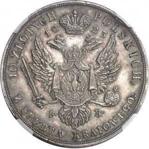 Alexandre Ier (1801-1825). 10 Zlotych 1823 IB, Varsovie.
