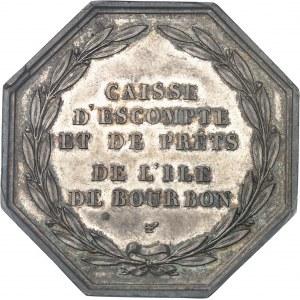 Charles X (1824-1830). Jeton de la Caisse d'escompte et de prêts ND (1826), Paris.