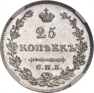 Nicolas Ier (1825-1855). 25 kopeck 1828/7, Saint-Pétersbourg.