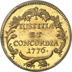 Zurich (canton de). 2 ducats 1776.