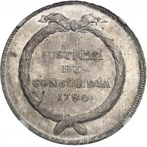 Zurich (canton de). Thaler 1780.