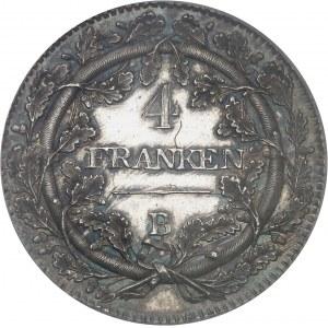 République helvétique (1798-1803). Essai de 4 franken 1799, B, Berne.