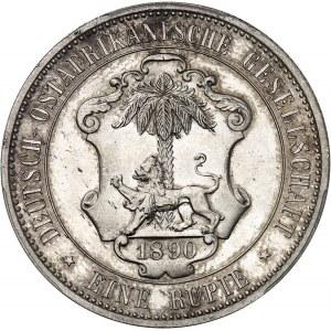 [Tanzanie] Afrique Orientale Allemande, Guillaume II. Rupie 1890, Berlin.