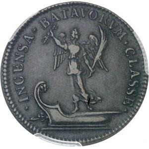 Louis XIV (1643-1715). Jeton pour la victoire française sur les Hollandais ND (c.1677), Paris.