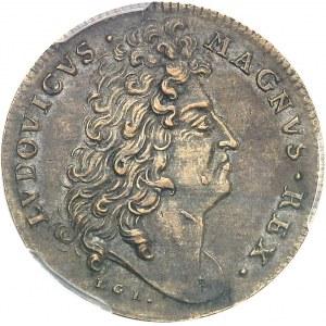 Louis XIV (1643-1715). Jeton pour la victoire française sur les Hollandais ND (c.1677), Nuremberg.