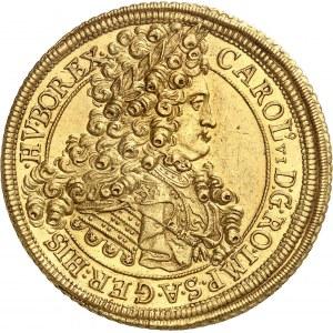 Charles VI (1711-1740). 10 ducats 1713, Karlsbourg (Alba Iulia).