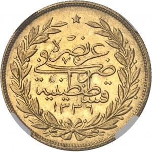 Mehmed VI (1918-1922). 250 kurush AH 1336/4 (1921), Constantinople.