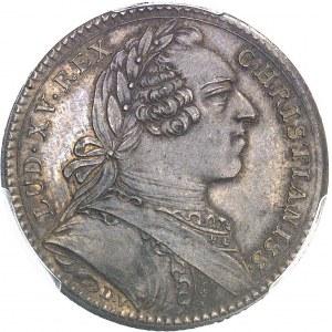 """Amérique-Canada (colonies françaises), Louis XV (1715-1774). Jeton """"SATIS UNUS UTRIQUE"""" par Duvivier 1753, Paris."""