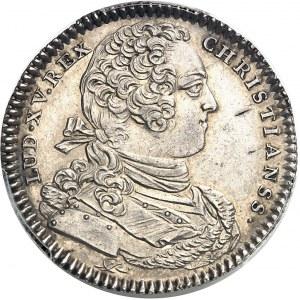 """Amérique-Canada (colonies françaises), Louis XV (1715-1774). Jeton """"NON INFERIORA METALLIS"""" par J.-C. et C.-N. Roëttiers 1754, Paris."""