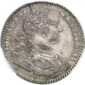 """Amérique-Canada (colonies françaises), Louis XV (1715-1774). Jeton """"NON INFERIORA METALLIS"""" frappe médaille par C.-N. Roëttiers 1754, Paris."""