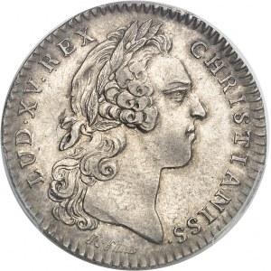 """Amérique-Canada (colonies françaises), Louis XV (1715-1774). Jeton """"NON INFERIORA METALLIS"""" par R. Filius et C.-N. Roëttiers 1754, Paris."""