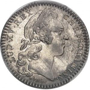 """Amérique-Canada (colonies françaises), Louis XV (1715-1774). Jeton """"SEDEM NON ANIMUM MUTANT"""" par R. Filius 1756, Paris."""