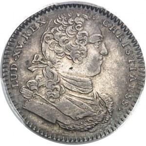 """Amérique-Canada (colonies françaises), Louis XV (1715-1774). Jeton """"SEDEM NON ANIMUM MUTANT"""" non signé 1756, Paris."""