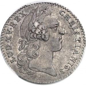 """Amérique-Canada (colonies françaises), Louis XV (1715-1774). Jeton """"EADEM TRANS ÆQUORA VIRTUS"""" par R. Filius 1758, Paris."""