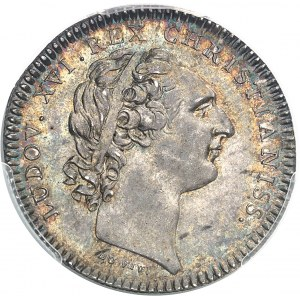 """Louis XVI (1774-1792). Jeton """"PACEM ARMA TUENTUR"""", soutien militaire à l'Amérique indépendante, par Duvivier 1777, Paris."""