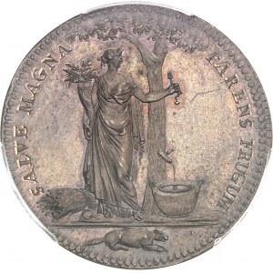 Castorland (1792-1800). Jeton d'un 1/2 dollar, frappe avec coins d'origine 1796 (avant 1830), Paris.