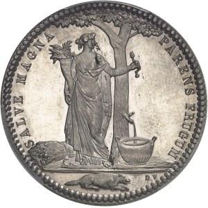 Castorland (1792-1800). Jeton d'un 1/2 dollar, refrappe avec de nouveaux coins 1796 (1845-1860), Paris.