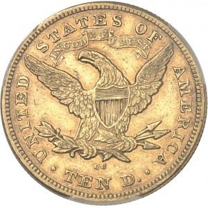 République fédérale des États-Unis d'Amérique (1776-à nos jours). 10 dollars Liberty 1874, CC, Carson City.