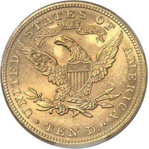 République fédérale des États-Unis d'Amérique (1776-à nos jours). 10 dollars Liberty 1896, Philadelphie.
