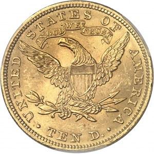 République fédérale des États-Unis d'Amérique (1776-à nos jours). 10 dollars Liberty 1901, Philadelphie.