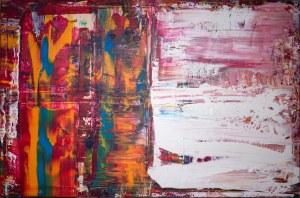 Dominik SMOLIK ur. 1982, Sfumato and abstract totems, 2021