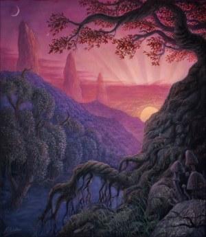 Konstantyn PŁOTNIKOW ur. 1991, The Three Rocks Landscape II, 2021