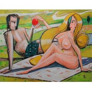 Tomasz KURAN ur. 1971, Adasiu, ugryź jabłko, a znajdzie się...