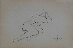 Edwin Scharff, Akt, 1944 r.