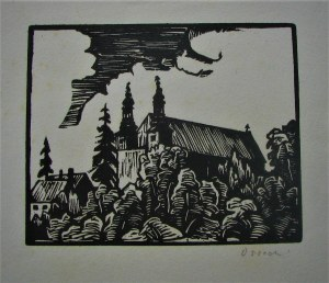 Wilk Wilhelm Ossecki, Z teki Wilno - Kościół