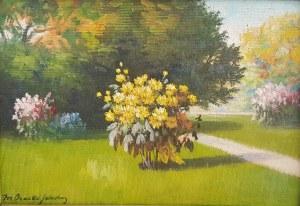 Mieczysław Serwin - Oracki, Kwiaty w parku