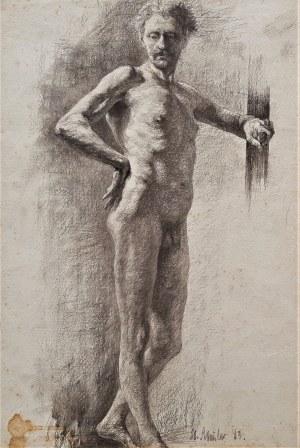 Stefan Frisch, Akt, 1883 r.