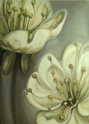 Iwona Greczka, Biały kwiat,