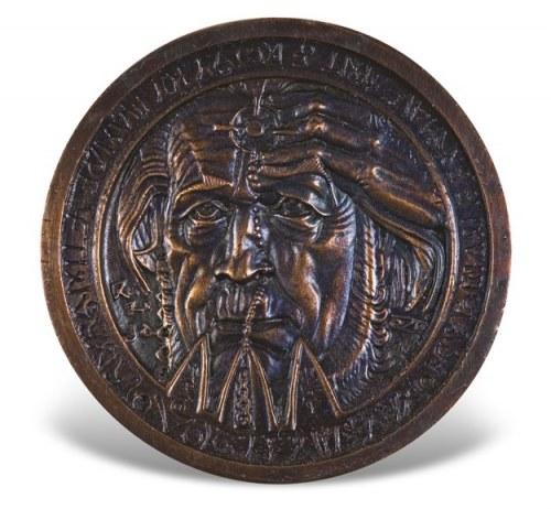 Stanisław Szukalski - Sołżenicyn, Medal – 1970