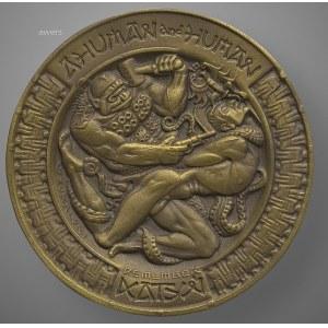 Stanisław Szukalski - Medal Katyński 1977/1986