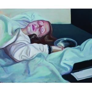 Martyna Baranowicz, Portret śpiącej, 2015