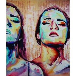 Iwona Kołodziej, Colorful faces, 2015