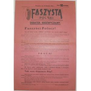 Faszysta Polski - Odezwa - 30 IV 1926R.