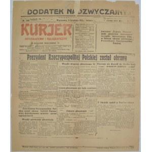 Kur.Inf. I Telegr.- Narutowicz Prezydentem, 9.12.1922