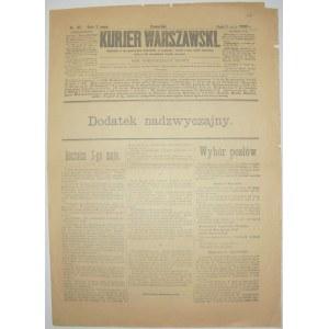 Kurjer Warszawski - Wybór Posłów Do Dumy, 3 maja 1906