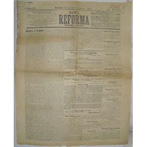 Nowa Reforma - Egzemplarz Cenzorski z 8 czerwca 1916r.