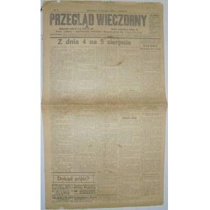 Przegląd Wieczorny - Zmiana Okupanta W-Wy, 5.08.1915