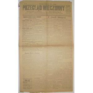 Przegląd Wieczorny - I W.ś. W Polsce, 14 Sierpnia 1915 r.