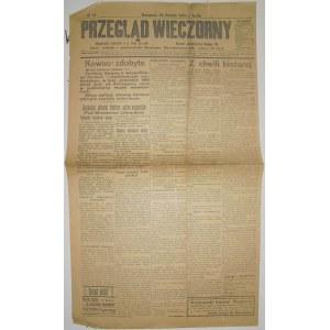 Przegląd Wieczorny - Ogł. Urzędowe, 18.08.1915