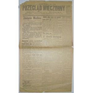 Przegląd Wieczorny - Nabór Do Szkół Męskich, 20.08.1915