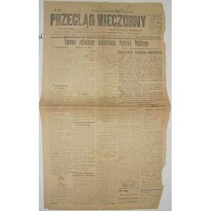 Przegląd Wieczorny - Akt 5 Listopada w W-Wie, 5.11.1916