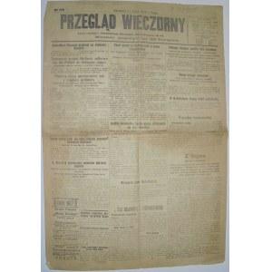 Przegląd Wieczorny - Relacja Z Paryża, 11 Lipca 1919 r.